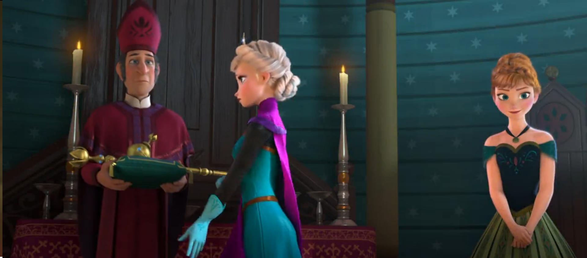 Elsa Coronation Dress Deposit