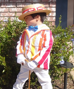 Jolly Holiday Bert Costume