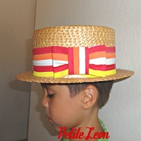 Bert Jolly Holiday Hat Tie Band
