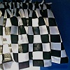 Checkered Race CARS Valance