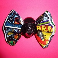 Star Wars Darth Vader Hair Bow
