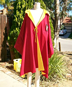 Harry Potter Gryffindor Quidditch Robe
