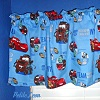 Pixar Blue CARS Window Valance
