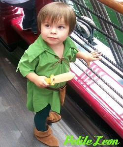 Peter Pan Child Costume Rent $60.00