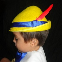 Pinocchio Hat Yellow
