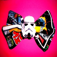 Star Wars Storm Trooper Hair Bow