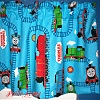 Thomas Train Baby Blue Valance