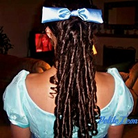 Wendy Costume Hair Bow