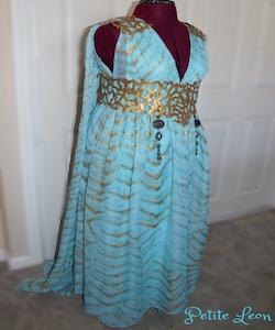 Daenery Targaryen Khaleesi Qarth Dress