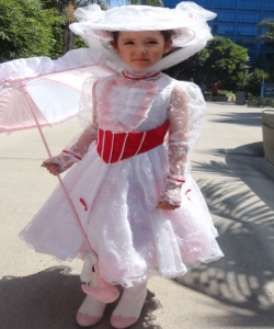 Mary Poppins Jolly Holiday Child Costume $40.00 RENTAL